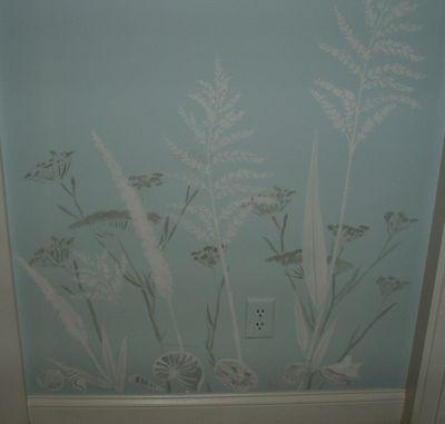 Grass and fennel stencil c smith
