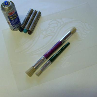 1 fan stencil ingredients 94