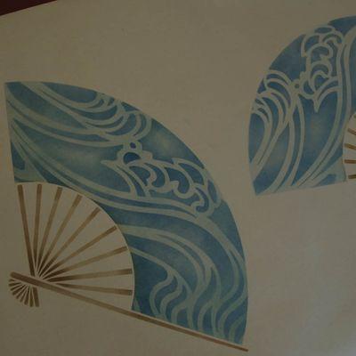 5 fan stencil both overlays 900