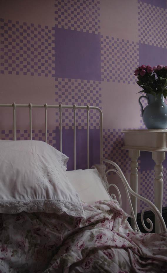 Vn gingham bed em 104