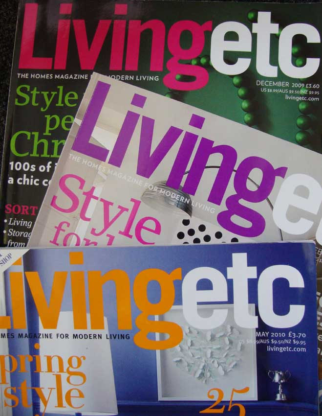 Living etc covers