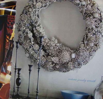 Jewelry wreath 477