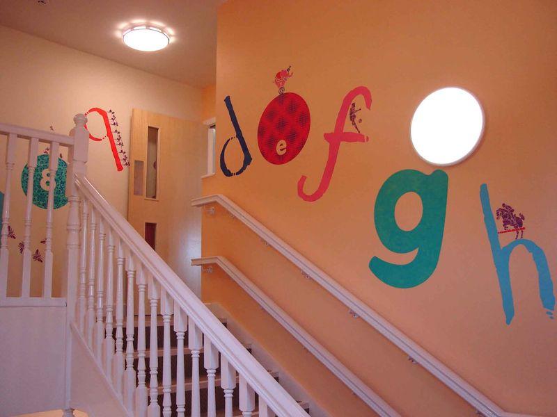 Alphabet stairs36
