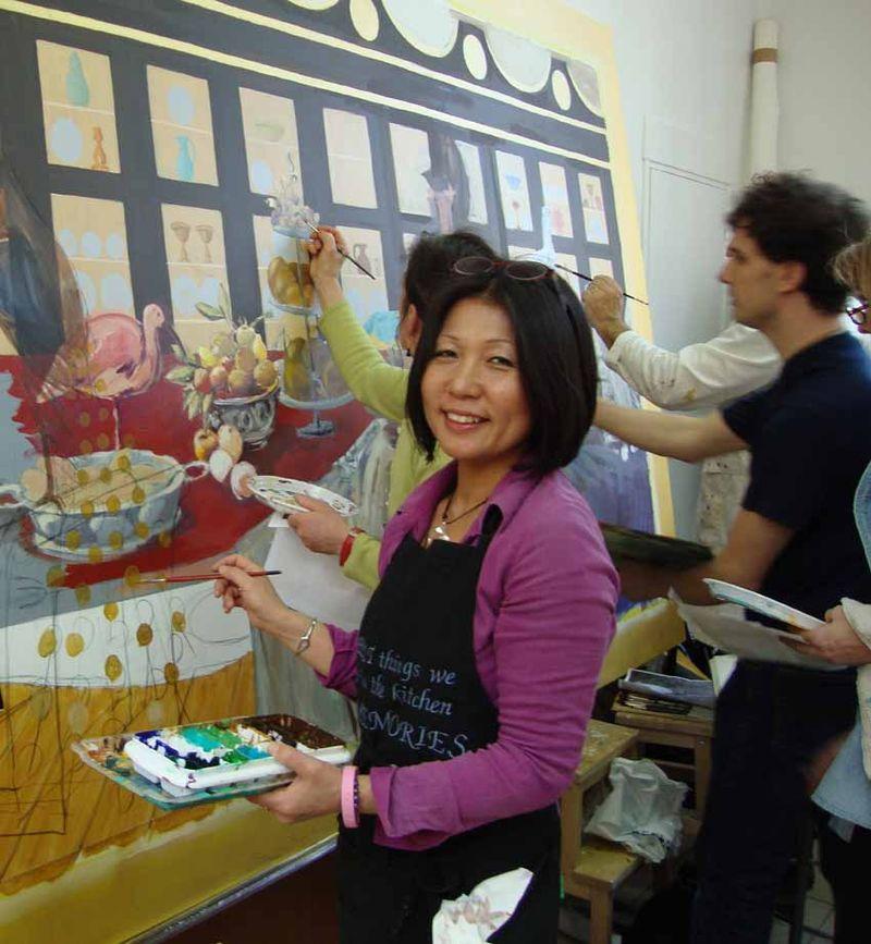 Salon yaeko mural 279
