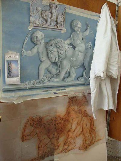Salon panel progress 505