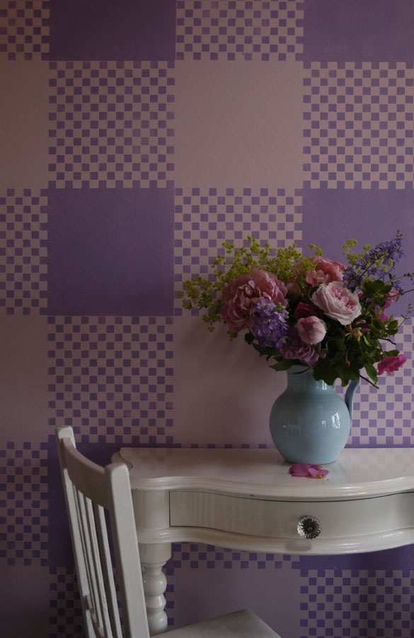 Check Out Our New Gingham Stencil Design Inspiration Planet