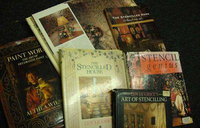 Stencil books 1990s 12