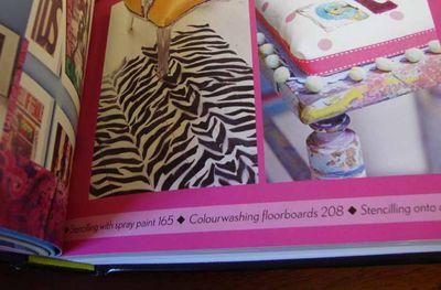 LLB zebra stencil 92