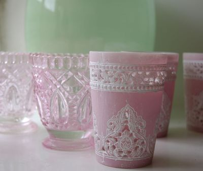 Ilva pink tea lights.06