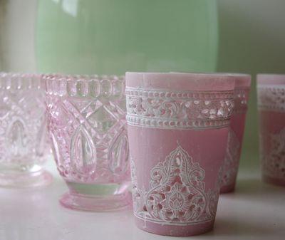 Ilva pink tea lights.06