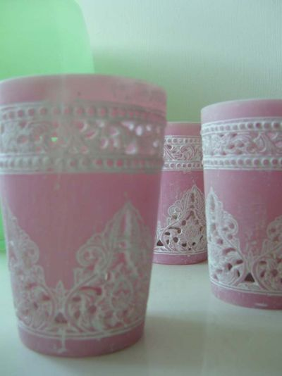 Pink Ilva tea lights 77