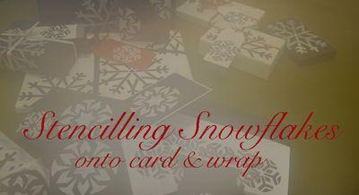Stencilling snowflakes blog header 69