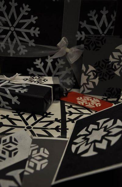Snowflake wrap 93