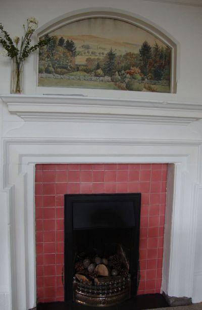 Tiled fireplace shepherds dene
