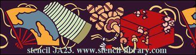 Ja23 japanese stencil-library