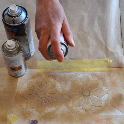 Spray paint stencil 06