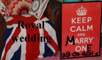 Keep calm royal wedding