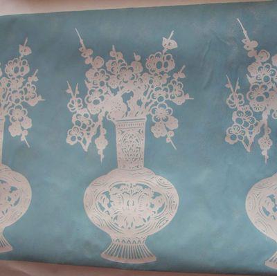 Paper cut stencil outline 6
