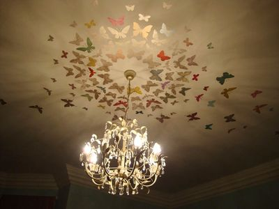 Butterflies On The Ceiling Design Inspiration Planet