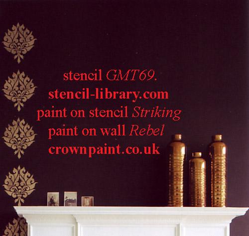 Crown paint gmt 69 stencil