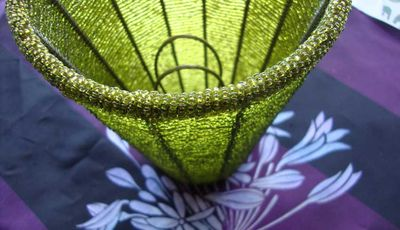 Green bead shade 67