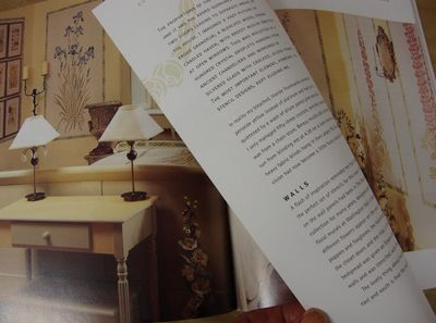 Stencilled home book gustavian 94