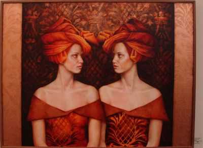 Stencil painting by Pam Hawkes