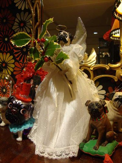Chistmas pug ornaments 16