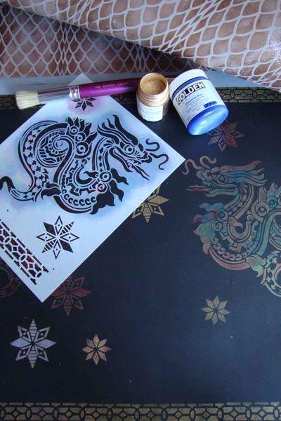Intro stencilling idal 1178