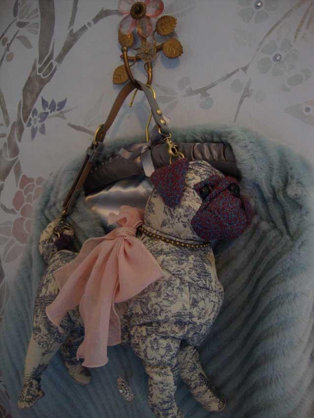 Pug dog purse 27