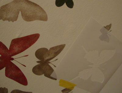 Butterfly stencil 28
