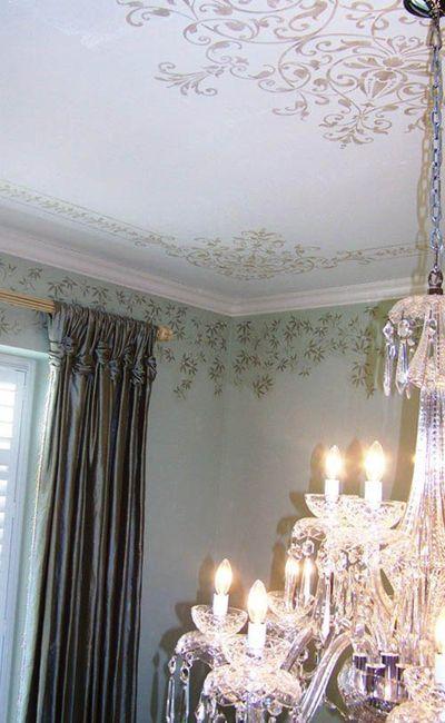 Swarovski ceiling effect
