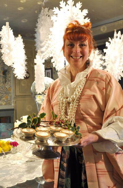 Helen Morris Drama in the parlour Christmas