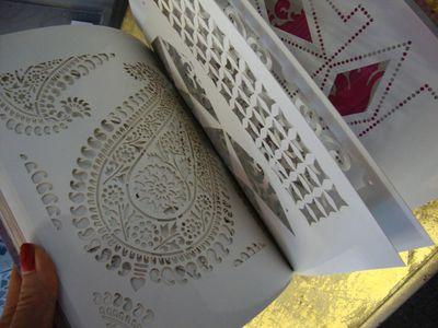 Card stencils from stencil it 47