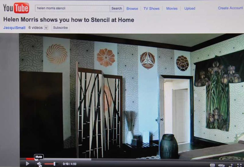 You tube how to stencil 29