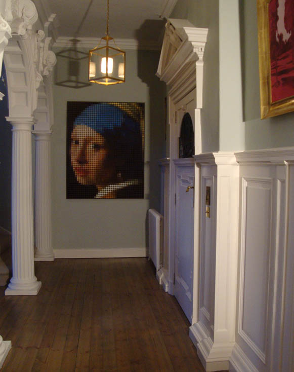 Pearl earring michael chippendale 889