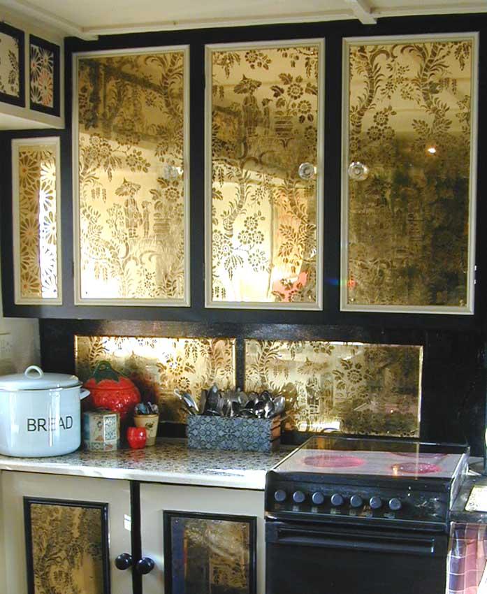 Black & gold kitchen 243