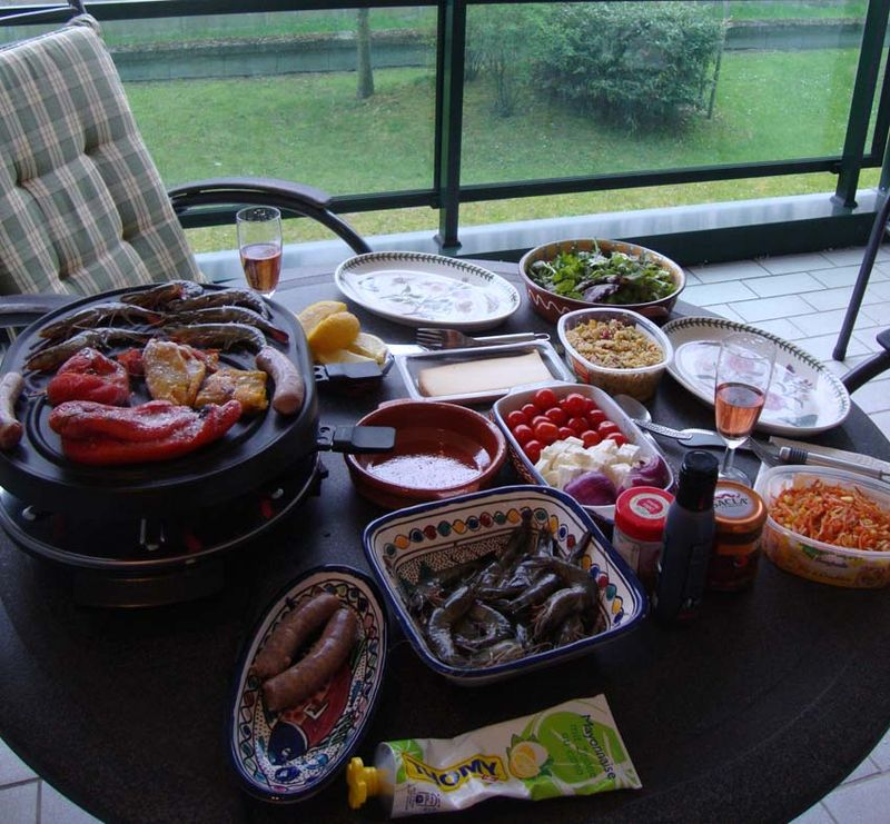 Raclette grill 698