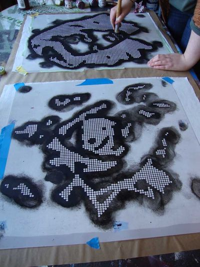 Louise stencilling needlepoint 51