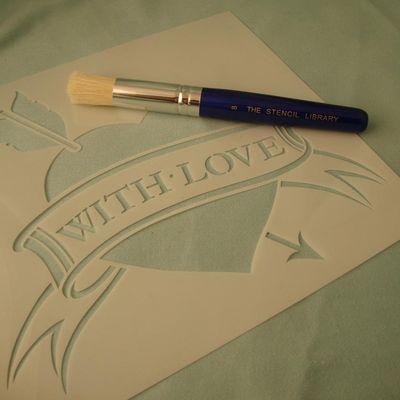 Love tatoo stencil 13