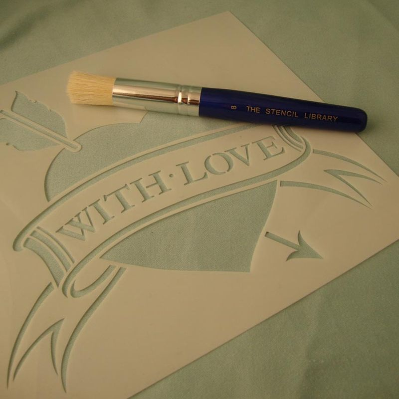 Love tatoo stencil 13