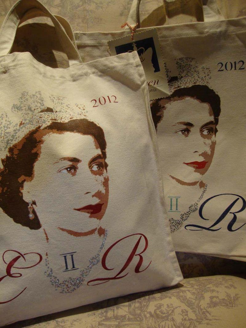 Canvas bags vintage queen.134