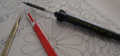 Stencil cutters 26