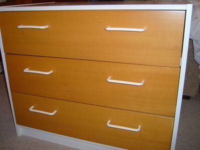 Dresser before stenciling