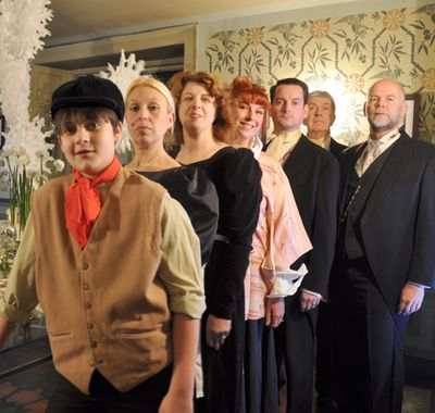 Drama in Parlour Victorian Special 26
