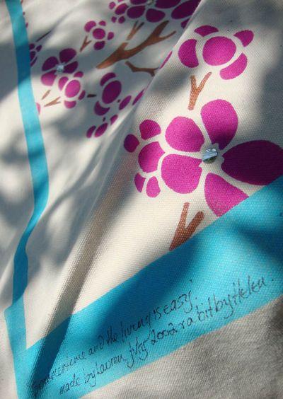 Lauren stencil hammock 35