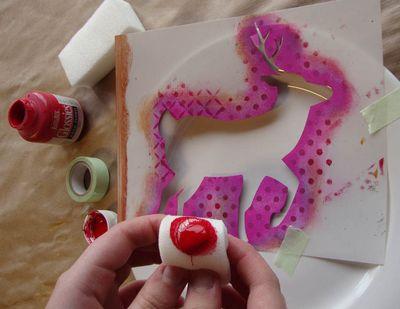 1 stencil a plate 14