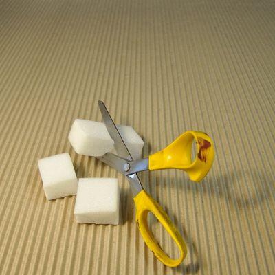 Chop stencil sponge 0014