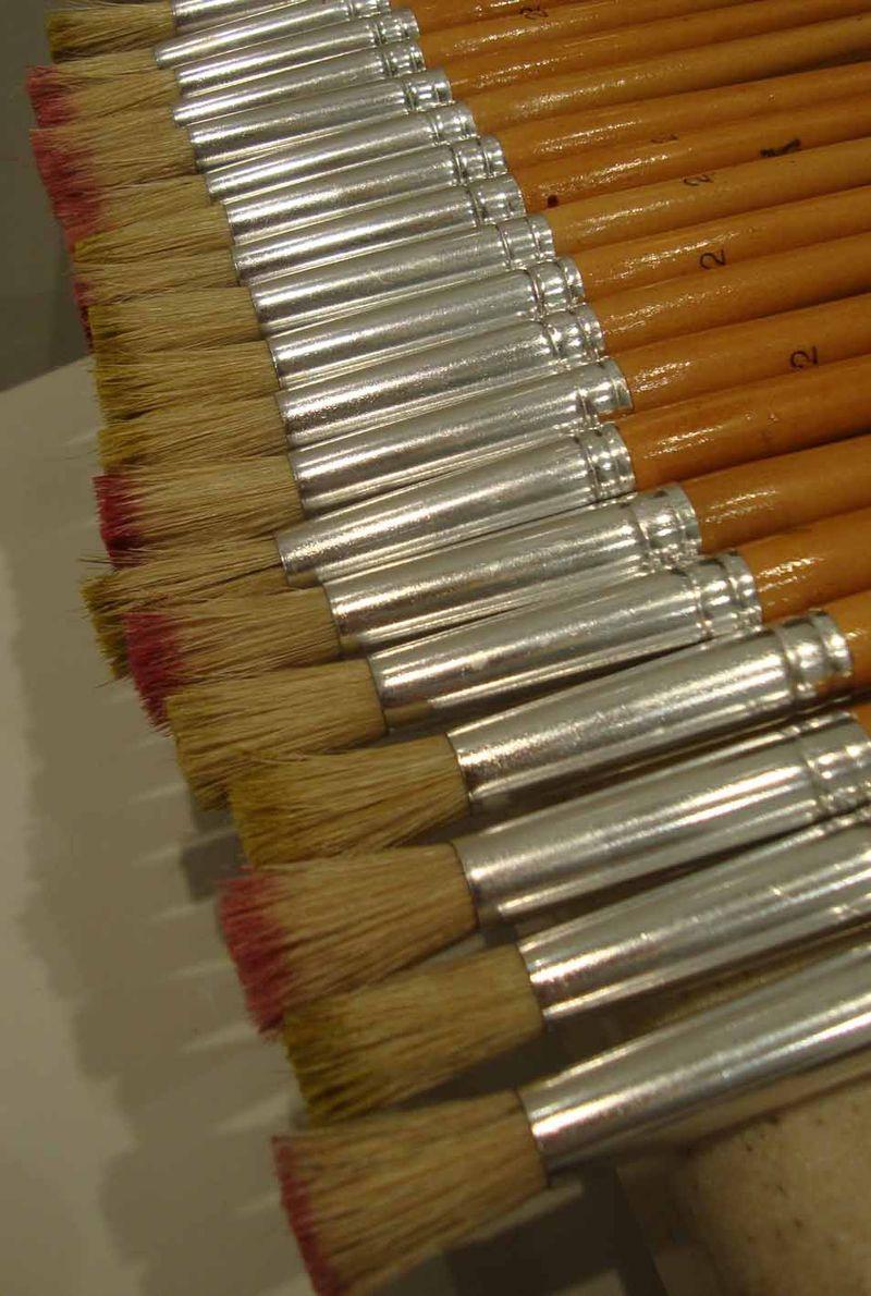 Stencil brushes.stencil library 03