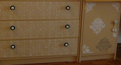 Betty stenciled furniture 275